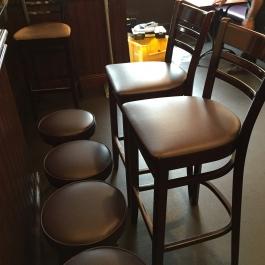 bar seating - stools