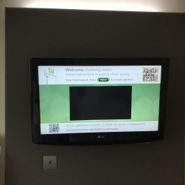 student accommodation tv backboard2